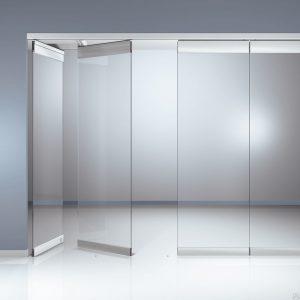 Офисные перегородки и двери из стекла