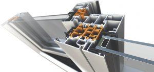 алюминиевые окна и алюминиевые двери